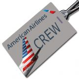 American Airlines New Crew Tag (Landscape format)